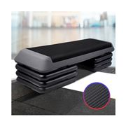 Active Sports - 4 Level Aerobic Exercise Step Fitness Bench