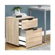 Home Office Design - 2 Drawer Filing Cabinet Shelves Storage