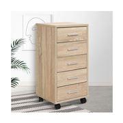Home Office Design - 5 Drawer Filing Storage Cabinet