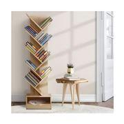 Home Office Design - 9-Shelf Tree Bookshelf Natural