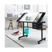 Home Office Design - Adjustable Drawing Desk Black/Grey
