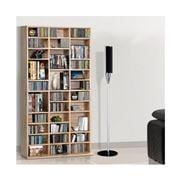 Home Office Design - CD& DVD Media Rack Stand Oak