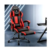 Home Office Design - Chair Black/Red
