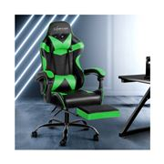 Home Office Design - Chair Chair Recliner PU Black Green