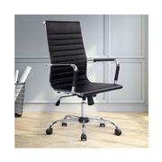 Home Office Design - Chair Desk Black High Back