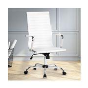 Home Office Design - Chair DeskWhite High Back