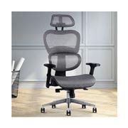 Home Office Design - Chair Mesh Net Seat Grey