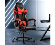 Home Office Design - Chair Recliner Racer Black Red