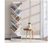 Home Office Design - Display Shelf 9-Shelf Bookshelf White