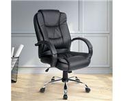 Home Office Design - Executive PU Chair Black