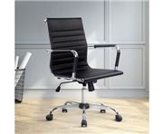 Home Office Design - Gaming Desk ChairBlack Mid Back
