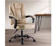Home Office Design - Massage Chair Recliner Khaki