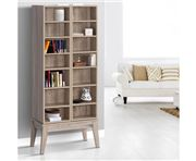 Home Office Design - Media Storage Display Shelf Oak