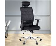 Home Office Design - Mesh High Back Desk Chair Black