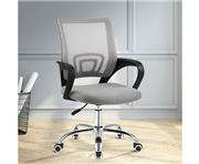 Home Office Design - OfficeMesh Chair Mid Back Grey