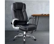 Home Office Design - PU Desk Chair Black