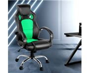 Home Office Design - Racing Style PU Desk Chair Green