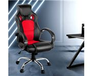 Home Office Design - Racing Style PU Desk Chair Red