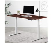 Home Office Design - Table with Riser With Height Adj 140cm