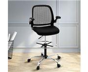 Home Office Design - Veer Drafting Stool Chair Mesh Adjust B
