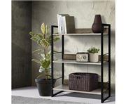 Home Office Design - Wooden Display Book Shelf Wall Storage