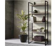 Home Office Design - Wooden Display Shelves Black