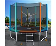 Jumpstart Trampolines - 8FT Trampoline Safety Net Multi
