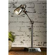 Emac & Lawton - Seattle Desk Lamp Antique Silver