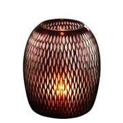 Zaffero - Belle Red Hand Cut Art Glass Table Lamp