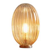 Zaffero - Costolette Small Ribbed Glass Table Lamp