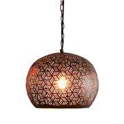 Zaffero - Kappa Small Bronze Dome Pendant Light