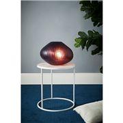 Zaffero - Paris Large Ruby Hand Cut Art Glass Table Lamp