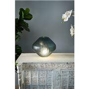 Zaffero - Paris Small Green Hand Cut Art Glass Table Lamp
