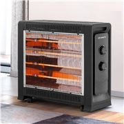 Devanti - 2200W Electric Infrared Convection Panel Heater