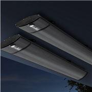 Devanti - 3200W Electric Infrared Strip Heater Set 2pc