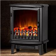 Devanti - Electric Fireplace Wood Heater 1800W