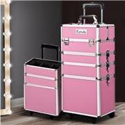 Embellir - 7 in 1 Cosmetic Makeup Trolley Pink
