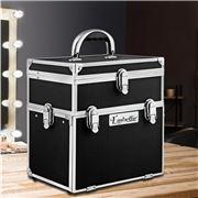 Embellir - Portable Cosmetic Beauty Carry Case Diamond Black