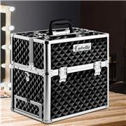 Embellir - Portable Cosmetic Beauty Makeup Carry Case Black