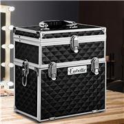 Embellir - Portable Cosmetic Makeup Carry Case Black
