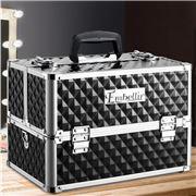 Embellir - Portable Cosmetic Makeup Case Black