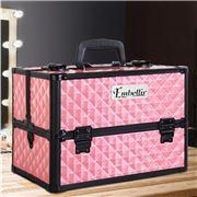 Embellir - Portable Cosmetic Makeup Case Pink