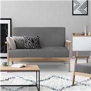 MyBar - 2 Seater Sofa Chair Grey