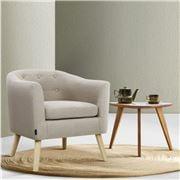 MyBar - ADORA Armchair Tub Chair Beige