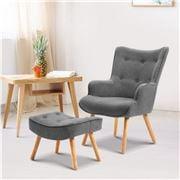 MyBar - Armchair/Ottoman Grey