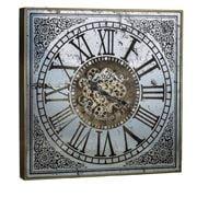 Design Arc - Large Square Mirror Clock