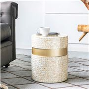 Design Arc - Cancun Shell Stool/Table