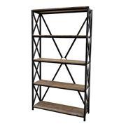 Design Arc - Braced Bookcase