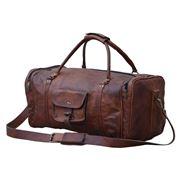 Design Arc - Overnight Leather Duffle Bag