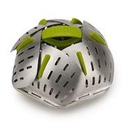 Joseph Joseph - Bloom Steel Folding Steamer Basket Green